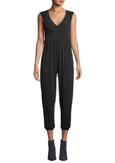 Velvet by Graham & Spencer Stretch Jersey Sleeveless Jumpsuit