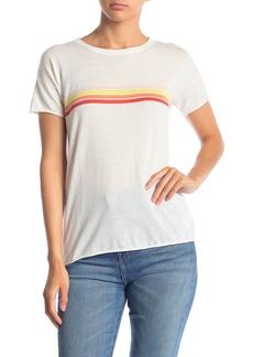Velvet by Graham & Spencer Stripe Cotton T-Shirt