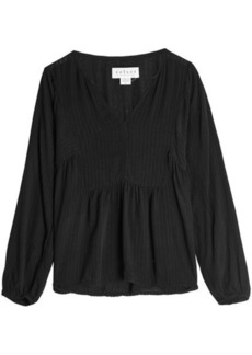 Velvet by Graham & Spencer Striped Blouse