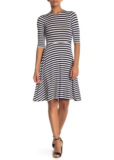Velvet by Graham & Spencer Striped Skater Dress