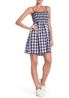 Velvet by Graham & Spencer Tie Strap Smocked Dress