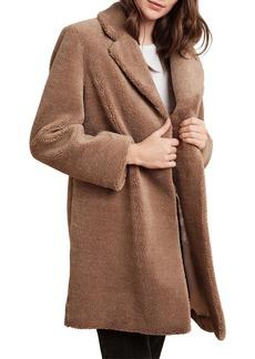 Velvet by Graham & Spencer Trishelle Sherpa Fleece Coat