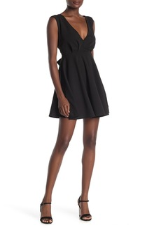 Velvet by Graham & Spencer V-Neck Sleeveless Fit & Flare Skater Dress