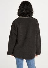 Velvet by Graham & Spencer Velvet Albany Sherpa Jacket