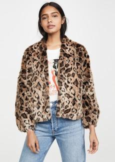 Velvet by Graham & Spencer Velvet Anne Faux Fur Jacket