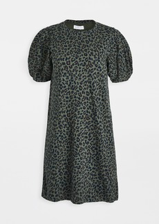 Velvet by Graham & Spencer Velvet Arion Leopard Dress