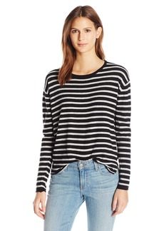 Velvet by Graham & Spencer Women's Lightweight Stripe Sweater  M