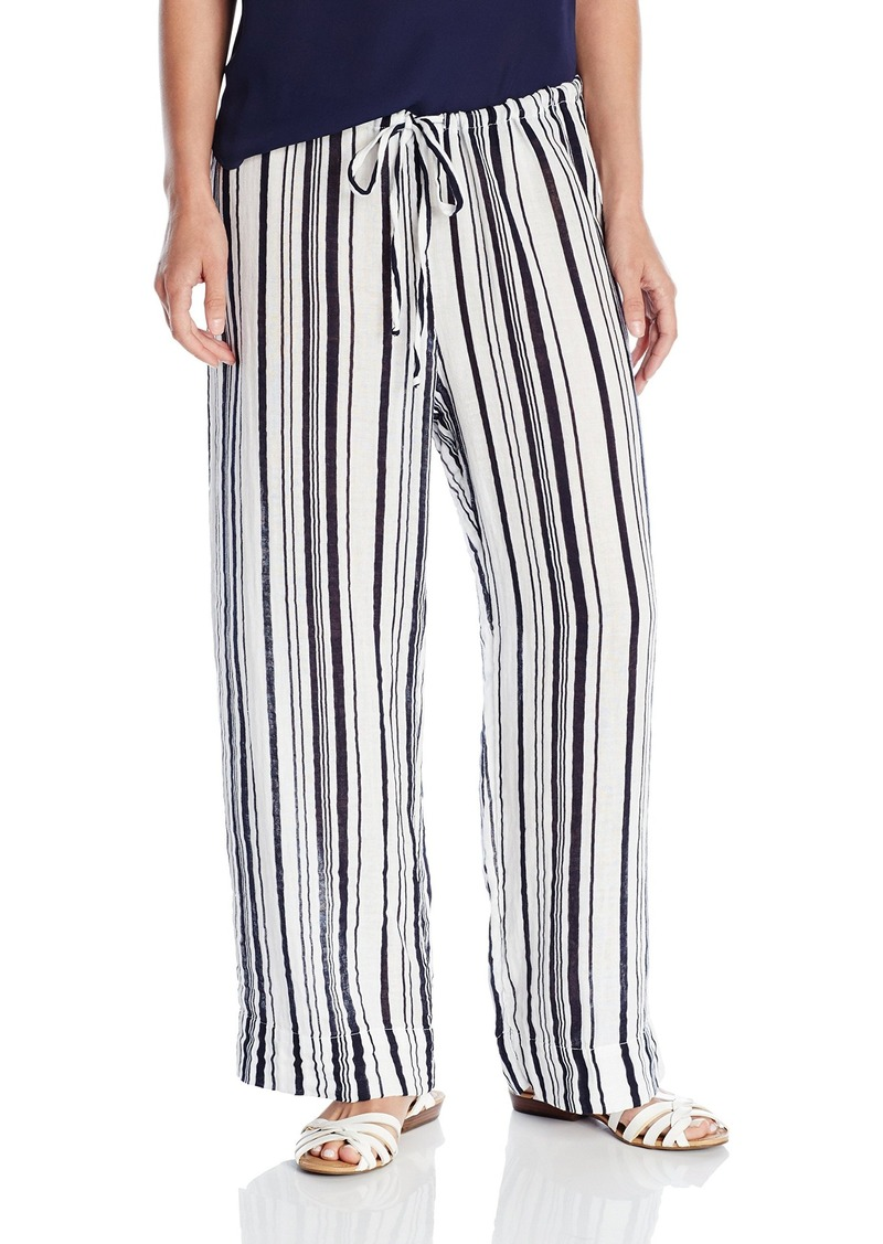 Velvet by Graham & Spencer VELVET BY GRAHA & SPENCER Women's Stripe Drawstring Pant ulti edium