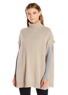 Velvet by Graham & Spencer VELVET BY GRAHAM & PENCER Women's Cashmere Turtleneck Ponchomall