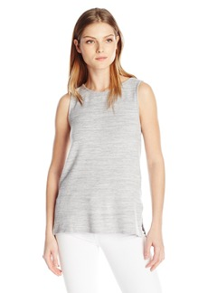 Velvet by Graham & Spencer Women's Cozy Heather Tank Grey