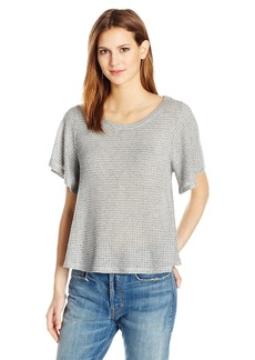 VELVET BY GRAHAM & PENCER Women's Thermal Knit Bell leeve Top