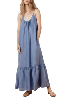 Velvet by Graham & Spencer Abara Flounce-Hem Maxi Dress