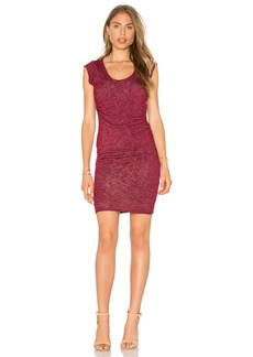 Velvet by Graham & Spencer Abena Scoop Neck T Shirt Dress