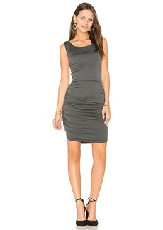 Velvet by Graham & Spencer Abrega Midi Dress in Slate. - size M (also in S,XS)