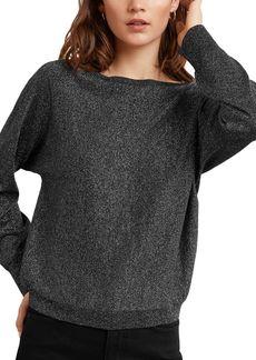 Velvet by Graham & Spencer Abril Metallic Sweatshirt