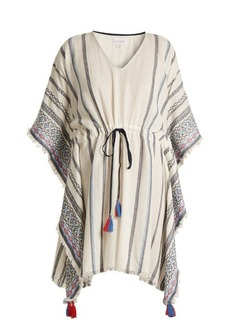 Velvet By Graham & Spencer Adalina striped cotton dress
