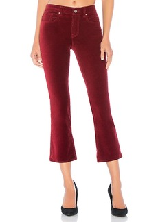 Velvet by Graham & Spencer Adriana Velveteen High Rise Crop Pant