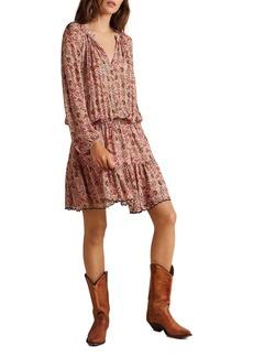 Velvet by Graham & Spencer Aubrey Printed Peasant Dress