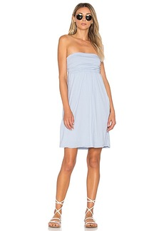 Velvet by Graham & Spencer Barbi Dress in Blue. - size L (also in M,S,XS)