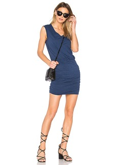 Velvet by Graham & Spencer Bardot Dress in Navy. - size L (also in M)