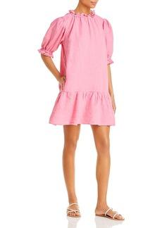 Velvet by Graham & Spencer Bernice Linen Mini Dress