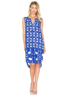 Velvet by Graham & Spencer Bonita Atlantis Print Shift Dress