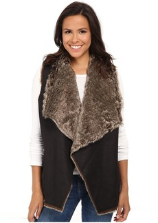 Velvet by Graham & Spencer Campbell03 Faux Fur Vest