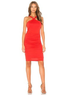 Velvet by Graham & Spencer Carmeline Dress in Red. - size L (also in M,S,XS)