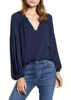 Velvet by Graham & Spencer Challis Peasant Sleeve Blouse
