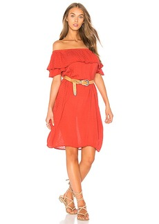 Velvet by Graham & Spencer Corra Dress in Red. - size L (also in M,S,XS)