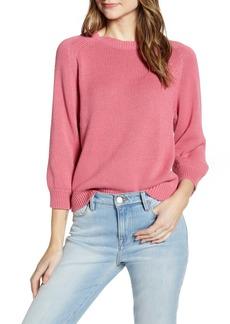 Velvet by Graham & Spencer Cotton Sweater