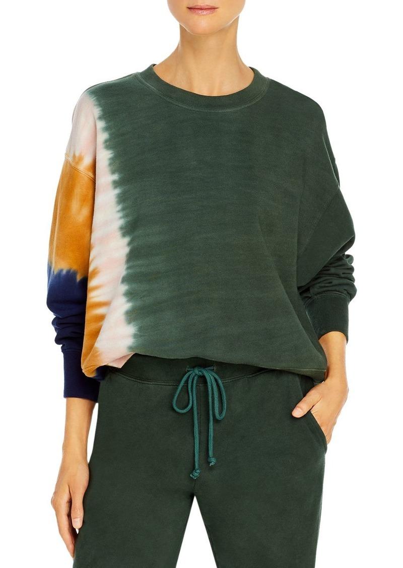Velvet by Graham & Spencer Cotton Tie Dyed Sweatshirt