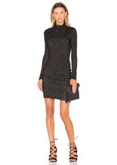 Velvet by Graham & Spencer Dacey Long Sleeve Turtleneck Mini Dress