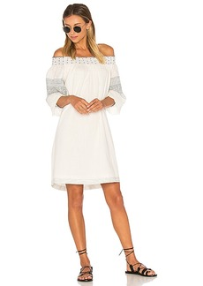 Velvet by Graham & Spencer Deandria Off Shoulder Dress in White. - size M (also in S,XS)