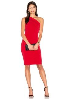Velvet by Graham & Spencer Elly One Shoulder Midi Dress