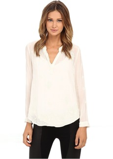 Velvet by Graham & Spencer Emmaline Long Sleeve Blouse