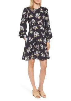 Velvet by Graham & Spencer Floral Blouson Sleeve Dress