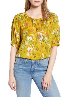 Velvet by Graham & Spencer Floral Print Blouse