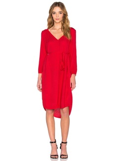 Floressa Damask Rayon Long Sleeve Dress
