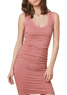 Velvet by Graham & Spencer Genisa Striped Ruched Tank Dress