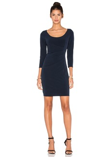 Velvet by Graham & Spencer Gini Stretch Jersey 3/4 Sleeve Dress