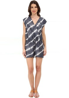 Velvet by Graham & Spencer Haiti Voile Tie-Dye Romper