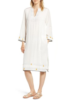 Velvet by Graham & Spencer Hand Stitched Caftan Dress