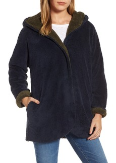 Velvet by Graham & Spencer Hooded Reversible Coat