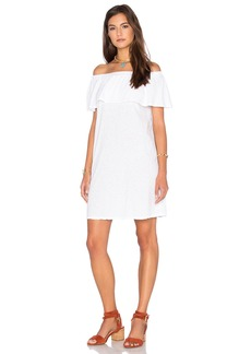 Velvet by Graham & Spencer Ithaca Cotton Slub Off The Shoulder Dress