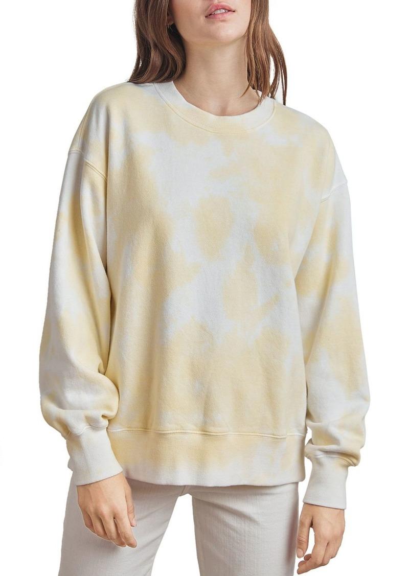 Velvet by Graham & Spencer Kelsey Tie-Dye Fleece Sweatshirt