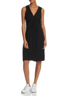 Velvet by Graham & Spencer Knotted-Front Knit Dress - 100% Exclusive