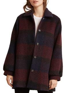Velvet by Graham & Spencer Kourtney Plaid Coat