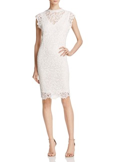 Velvet by Graham & Spencer Lace Cap Sleeve Dress