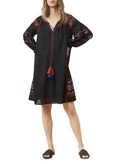 Velvet by Graham & Spencer Loane Embroidered Peasant Dress
